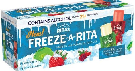 Freeze-A-Rita Ice Pops combine two of summer's most beloved coolers: popsicles and margaritas – what more could you ask for?
