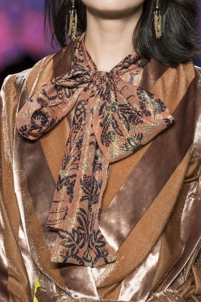 Anna Sui, Fall 2018 - New York's Most Striking Runway Details For Fall 2018 - Photos