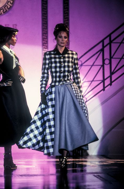 Christy Turlington for Gianni Versace, early