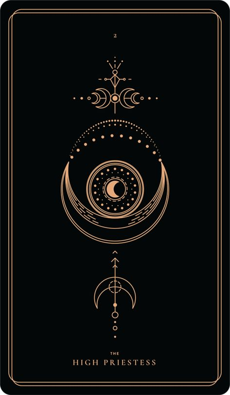 The High Priestess – Soul CardsYou can find Tarot cards and more on our website.The High Priestess – Soul Cards Tarot Tattoo, Witch Aesthetic, Major Arcana, Moon Art, Book Of Shadows, Compass Tattoo, Tattoo Inspiration, Soul Tattoo, Norse Tattoo