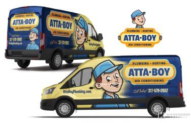 Vehicle Wrap Design For This Plumbing Company Based Out Of
