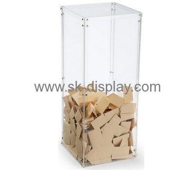 Plastic manufacturing companies custom perspex ballot