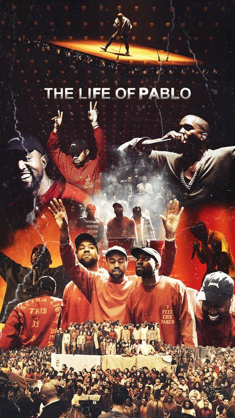 The life of Pablo - 8 1/2 \ X 11\