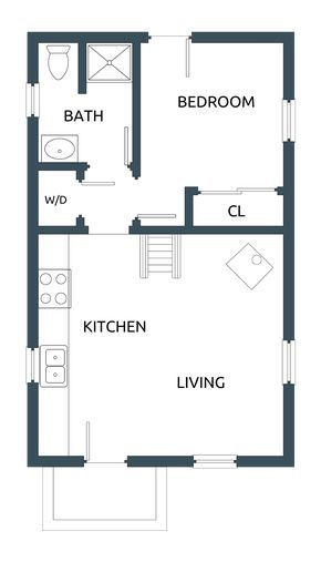 Longsmans Daughter in 2019 | Small house floor plans ... on small studio house plans, tiny guest cottage plans, tiny studio bathroom, tiny studio decorating, small space house plans, craft house plans, tiny chalet plans, passive solar house plans, tiny studio foundation,