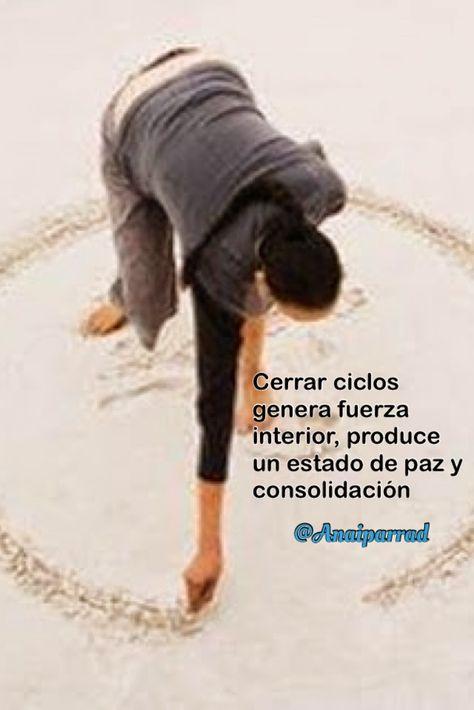 Ana I. Parra D.: La importancia de cerrar ciclos en nuestra vida.