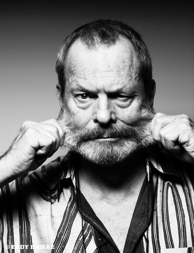 Terry Gilliam - great actor and even greater director! Born 1940, animator and member of the Monty Python
