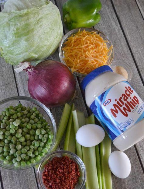 Kraft Pea Salad Recipe
