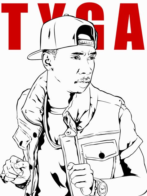 - Lil Wayne Coloring Pages (With Images) Coloring Pages, Color, Tyga