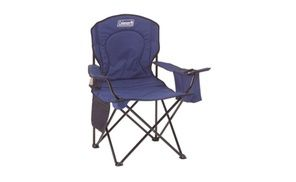 Coleman Oversized Quad Chair With Cooler Portable Camping Chair