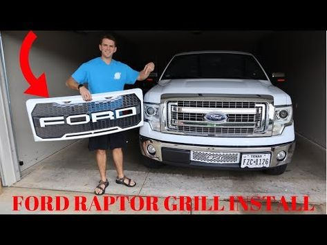 Looking To Spice Up The Grille On Your F150 The Stock Grilles Are Pretty Boring And Look Like Every Ford F150 Accessories Ford F150 Xlt Truck Accessories Ford
