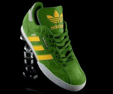 detailed pictures discount shop quality products new arrivals green adidas samba trainers 31106 1ca0f