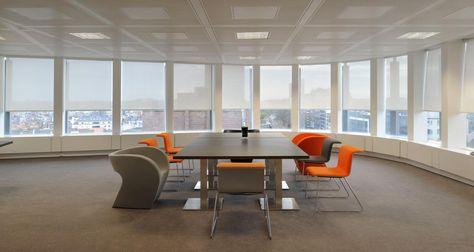 Salle de réunion dans les bureaux de Robert Walters à Bruxelles, Belgique