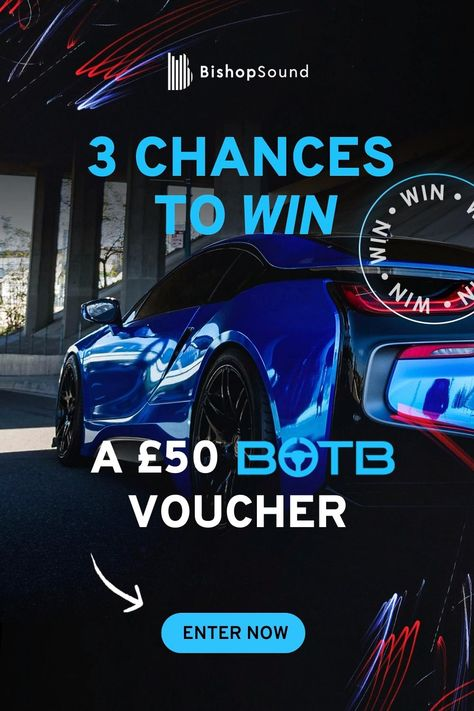 🎉 WIN the car of your dreams with BishopSound this Christmas 🎉