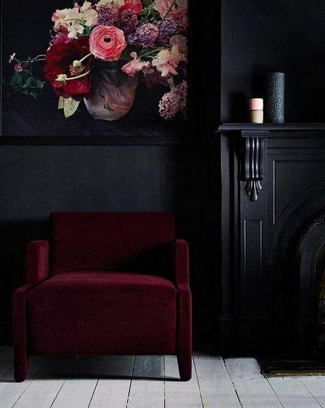 25 Amazing Gothic Living Room Design And Decorating Ideas #livingroomideas #livingroomdecorations #livingroomfurniture