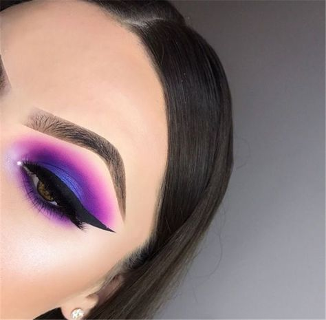 50 Gorgeous Purple Smoke Eye Makeups For Party And Holiday Season - Chic Hostess