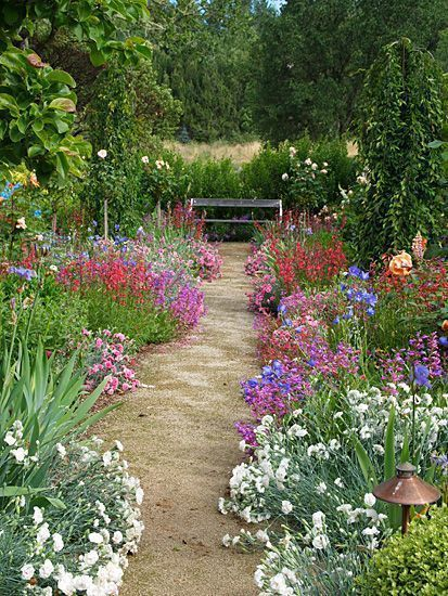 Create Your Own Secret Garden Country Garden Design Small