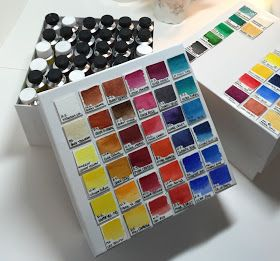 J Fernweh How To Store Watercolor Paint Tubes Paint Tubes