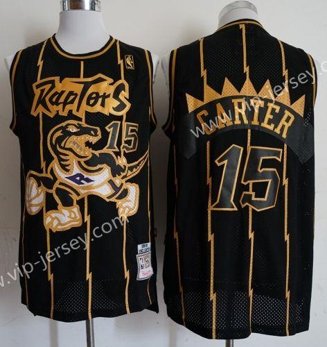 outlet store b8fdf efec2 NBA Toronto Raptors Black #15 (CARTER) Jersey | NBA Jersey