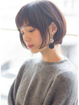 Un Ami Hira スタイリング簡単 大人可愛い小顔ショートボブ Un Ami