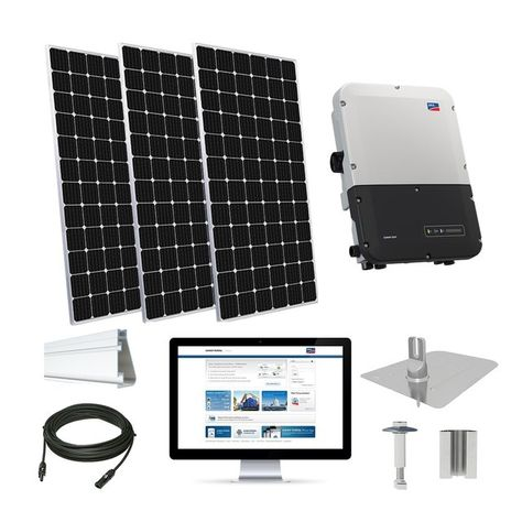 10 2 Kw Solar Kit Panasonic 330 Enphase Iq7x In 2020 Solar Kit Solar Solar System