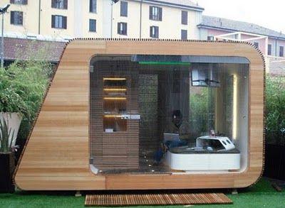 abri-bureau-jardin-24 | Projet jardin détente | Pinterest ...