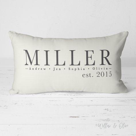 Decorative Lumbar Throw Pillow Family