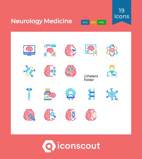 Download Neurology Medicine Icon pack - Available in SVG, PNG, EPS, AI & Icon fonts