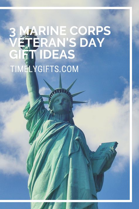 You should see these marine veterans day gift in this great article. These gift ideas are the perfect way to show your appriciation and thankfulness to former members of the U.S marine corps. Check out these touching veteran's day gift ideas for retired members of the U.S marines! #veteransday #giftideas #gifts #giftideas #diygiftideas #marinecorpsgifts