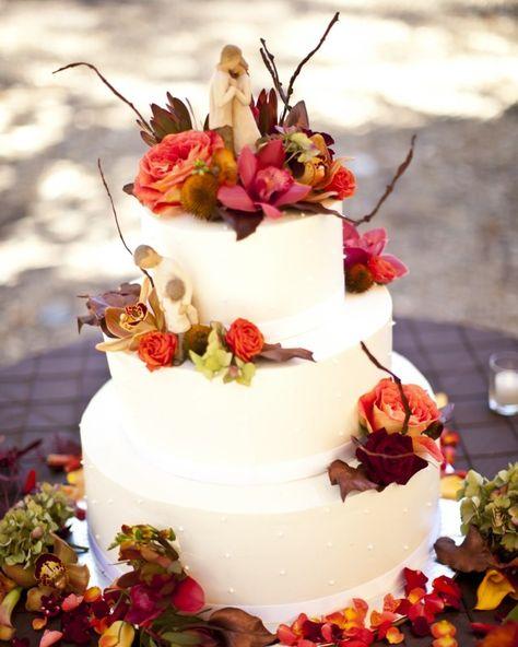 Hochzeitstorte - Inspiration - Herbst