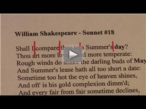 Improving Writing Skills How To Write A Sonnet Sonnets Are 12