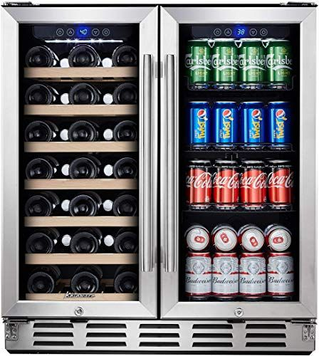 Enjoy Exclusive For Kalamera Beverage Refrigerator 30 Beverage Cooler Glass Front Door Beer Wine Soda And Drink Mini Fridge Small Stainless Bar Drinks In 2020 Drinks Fridge Wine Coolers Drinks Wine Fridge Bar