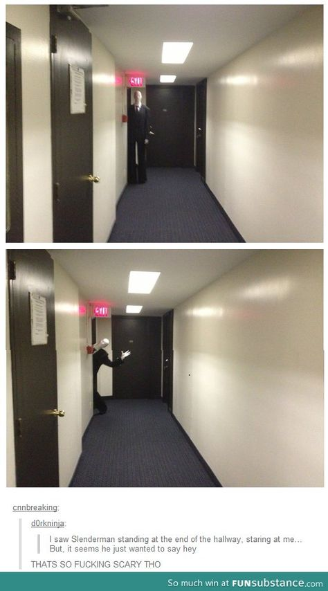 Funny pictures about He just wanted to say hey. Oh, and cool pics about He just wanted to say hey. Also, He just wanted to say hey. Jeff The Killer, Tumblr Funny, Funny Memes, Funny Quotes, Say Hey, Tumblr Stuff, Scary Stories, Horror Stories, Fnaf