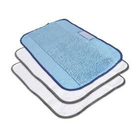 To fit Vax White Stick S88-W1M-B Steam Cleaning Washable Microfibre Mop pads 3pk
