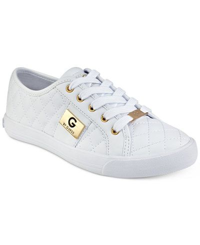 9fdd6cac9cf G by GUESS Backer Lace-Up Sneakers Women's Shoes, Woman Shoes, Ladies Shoes