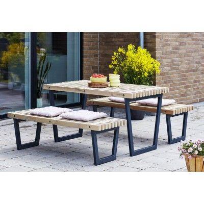 Woodinis Siesta Plus Gartenmöbel-Set für Garten u. Balkon | Garten ...
