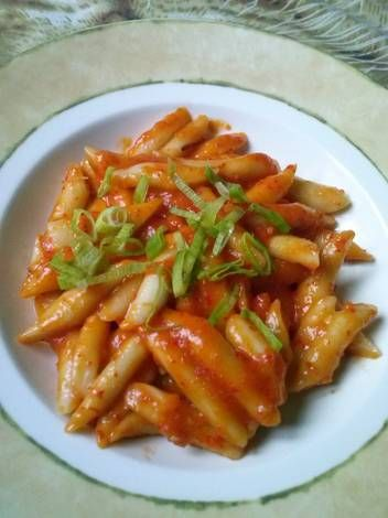 Resep Tteokbokki Simple Homemade Oleh Marcy Resep Memasak Resep Resep Makanan