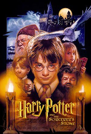 Harry Potter And The Sorcerer S Stone Movie Poster Cross Etsy Best Halloween Movies Classic Halloween Movies Halloween Movies