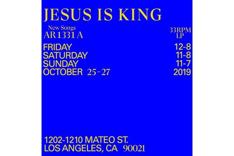 Inside Kanye West S Jesus Is King Merch Pop Up Shop Update Pop Up Shop Kanye West Kanye