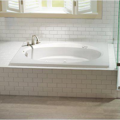 Jacuzzi Signature 72 X 42 Drop In Whirlpool Bathtub In 2020