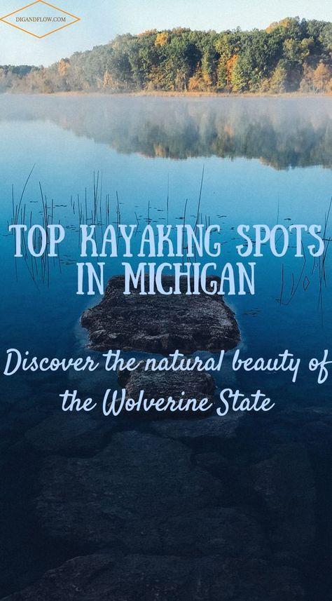 The top spots for kayaking in Michigan! These places looks so cool! - The top spots for kayaking in Michigan! These places looks so cool! Water Activities, Camping Activities, Camping Ideas, Camping Hacks, Michigan Travel, Lake Michigan, Oregon Coast Camping, Kayak For Beginners, Kayaking Tips