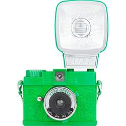 LOMOGRAPHY Diana Mini Camera & Flash