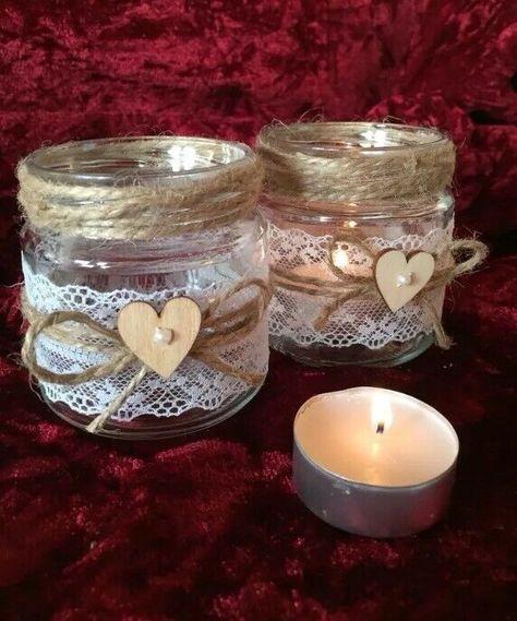 Dekoglaser Windlicht Vase Kerze Hochzeit Dekoration Glaser