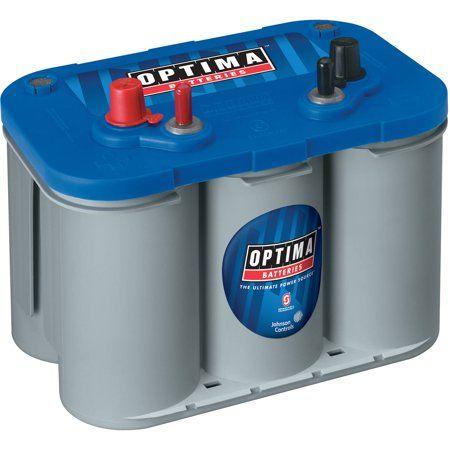 Optima Bluetop Agm Spiralcell Marine Battery Group Size D34 Walmart Com Deep Cycle Battery Optima Battery Marine Batteries