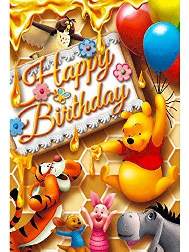 Disney Winnie The Pooh Honey Birthday 3d Lenticular Card Https