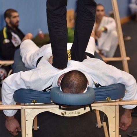 Jiu jitsu massage