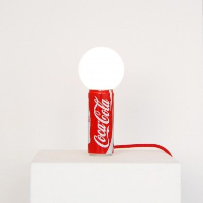 Lighting Upcycled Coke Can