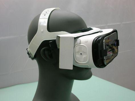 Samsung Gear VR Head Mounted Display Adapter by HFHeadgear by Neal Nelson — Kickstarter