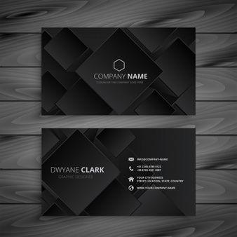 Download Dark Black Business Card Design For Free Business Card Design Black Black Business Card Business Card Design