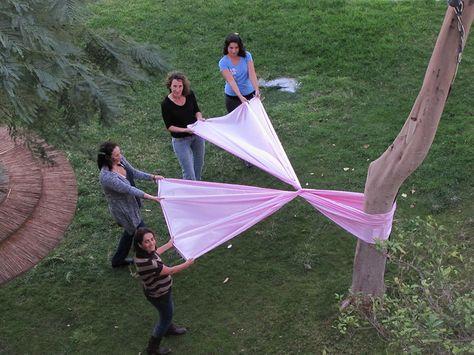 #PinkRibbon in #Eilat #BreastCancer #GEHealthcare
