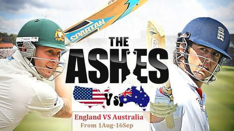Watch The Ashes Live